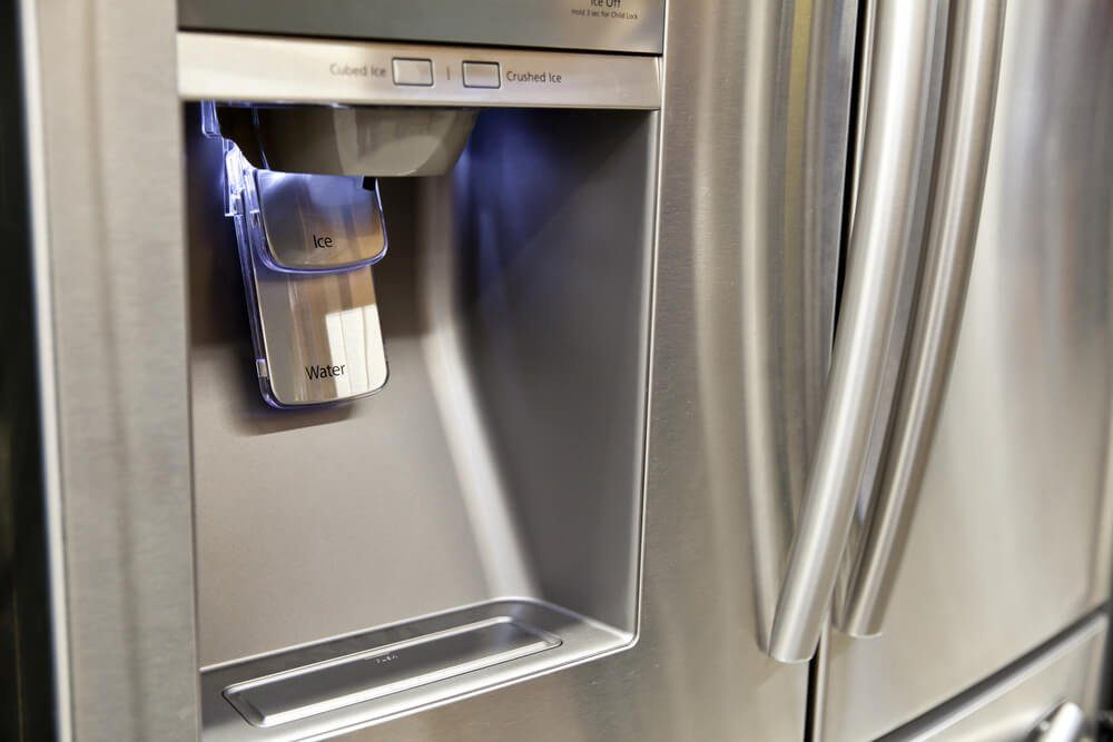 Items You Don't Wash Enough - Refrigerator Ice and Water Dispenser
