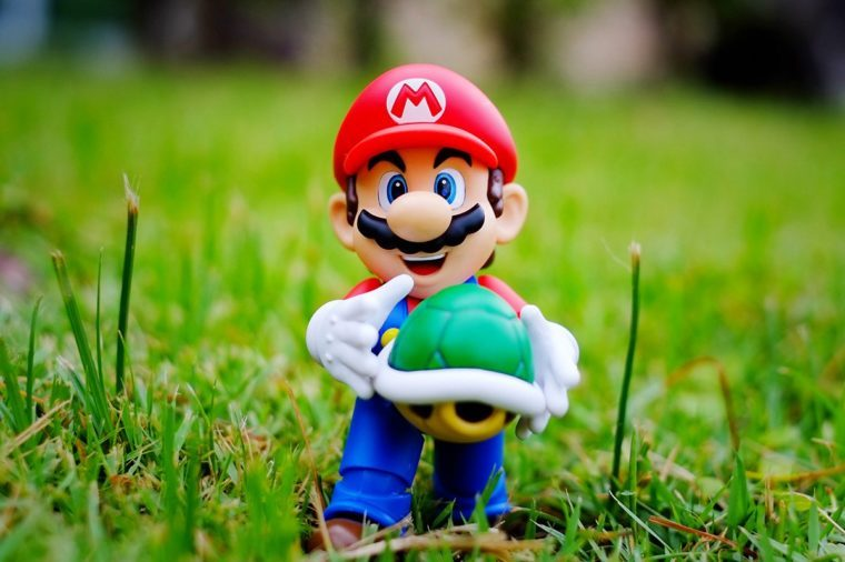 Super Mario Bros figure