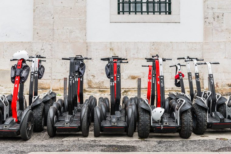 A Bunch of Segways