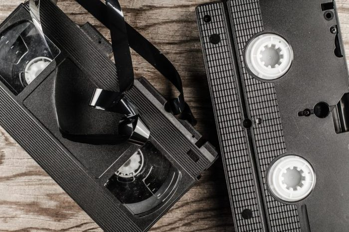 video cassettes and DVD disc