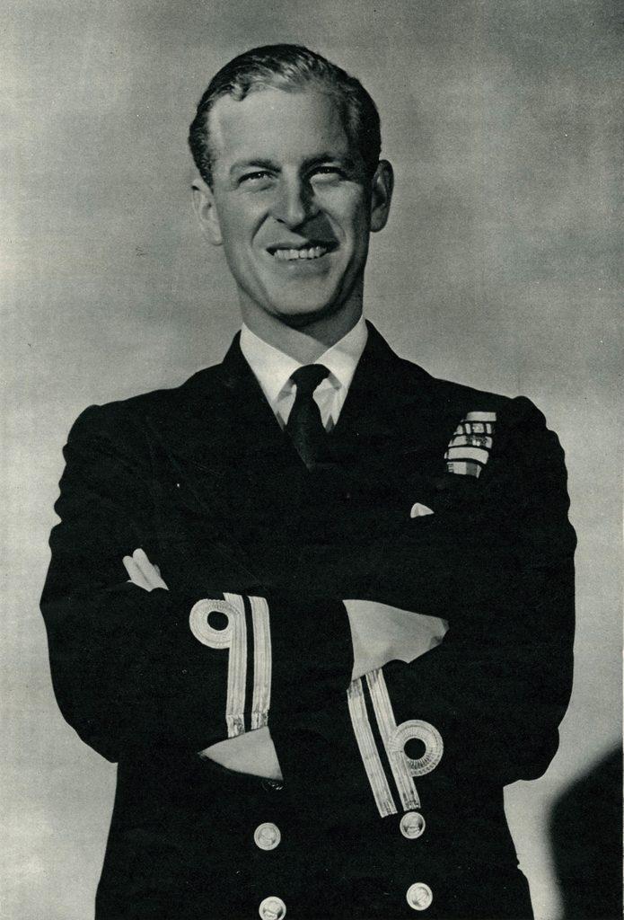 Lieutenant Philip Mountbatten Announcement of His Engagement, 1947