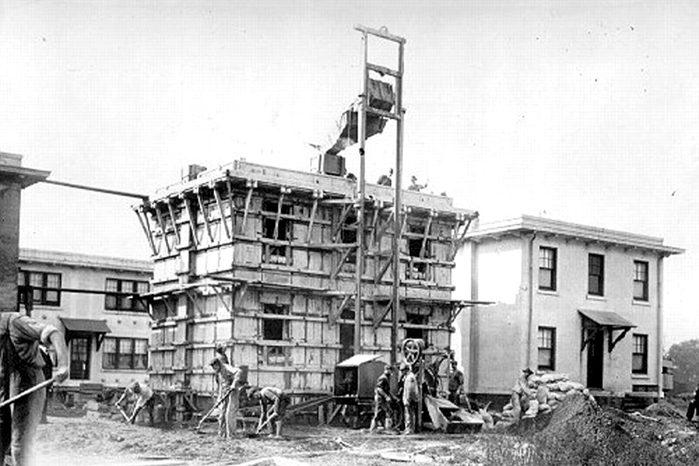 thomas edison cement house