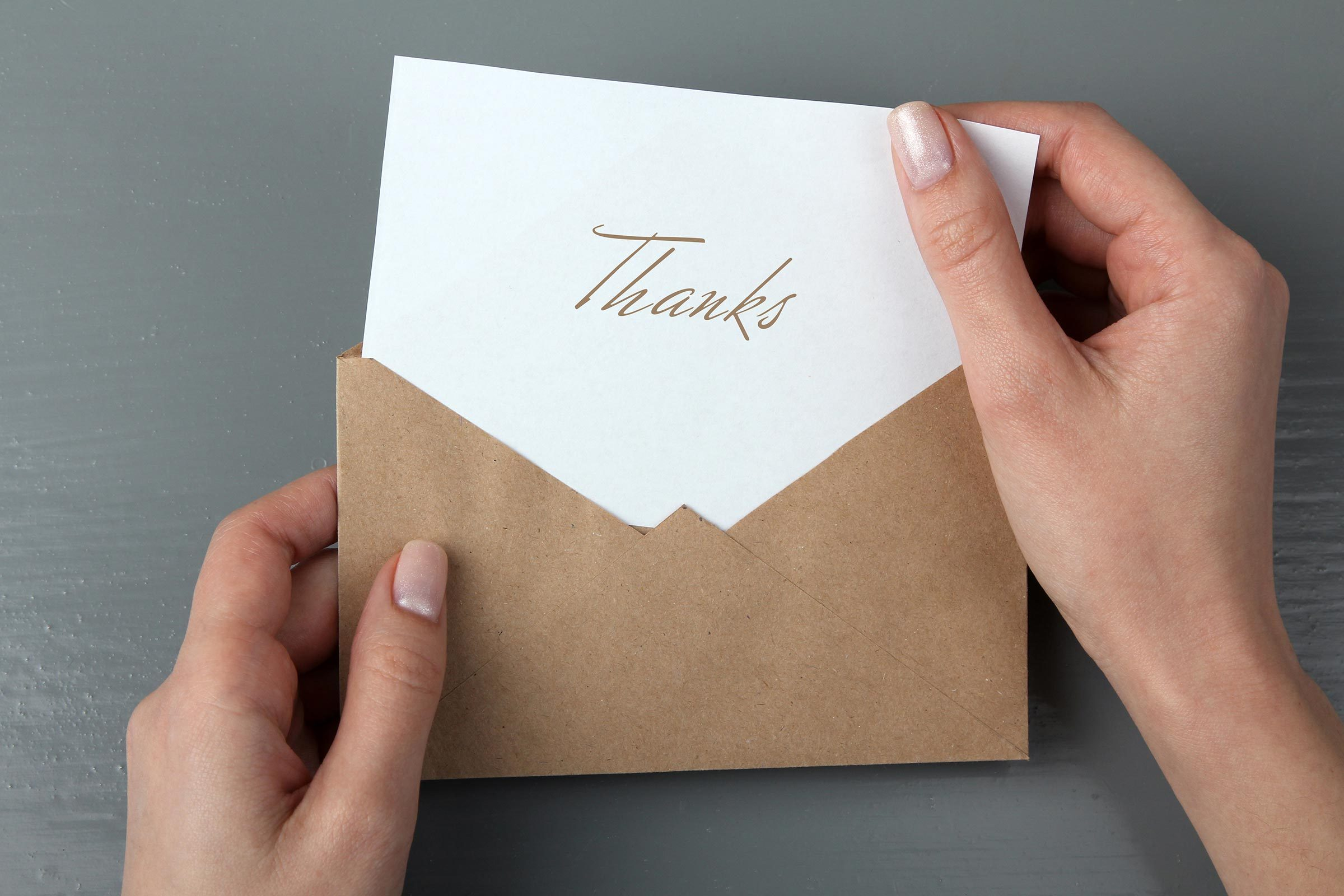 8 Times You Must (Yes, Must) Send a Thank-You Note