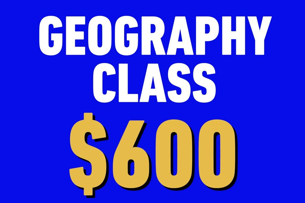 geography class 600