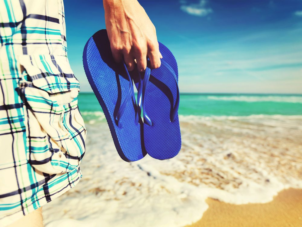 13 things feet flip flops
