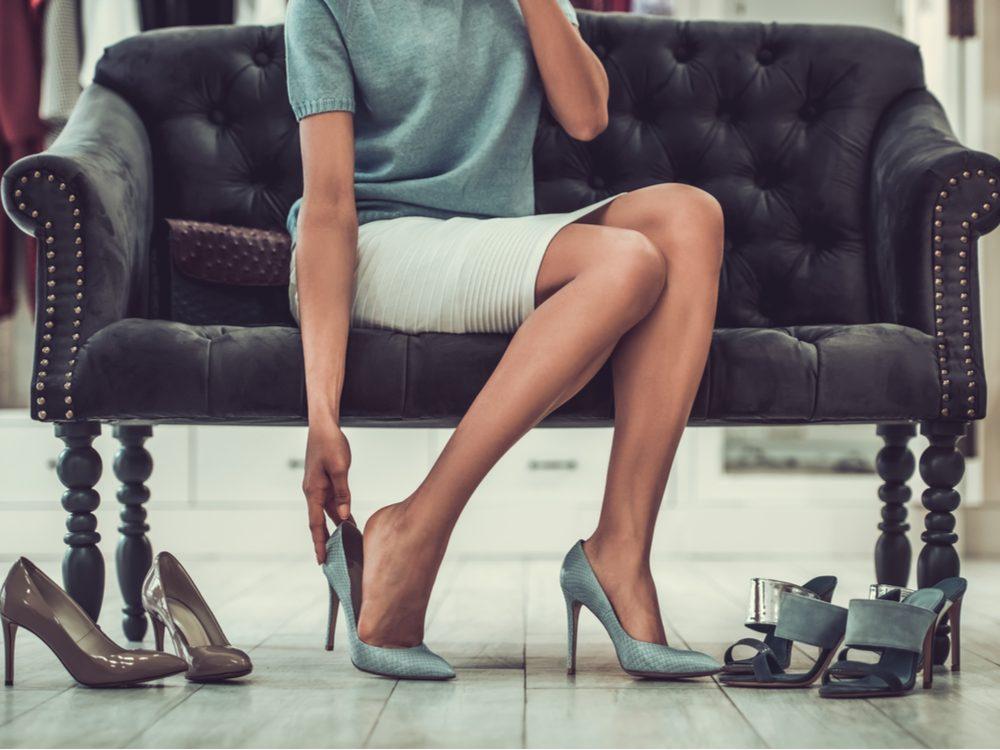 13 things feet high heels