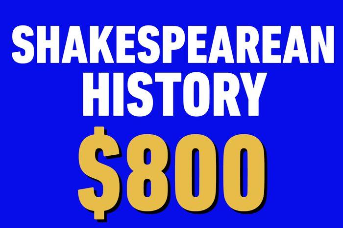 shakespearean history 800
