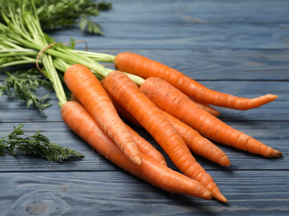 40 things doctors carrots