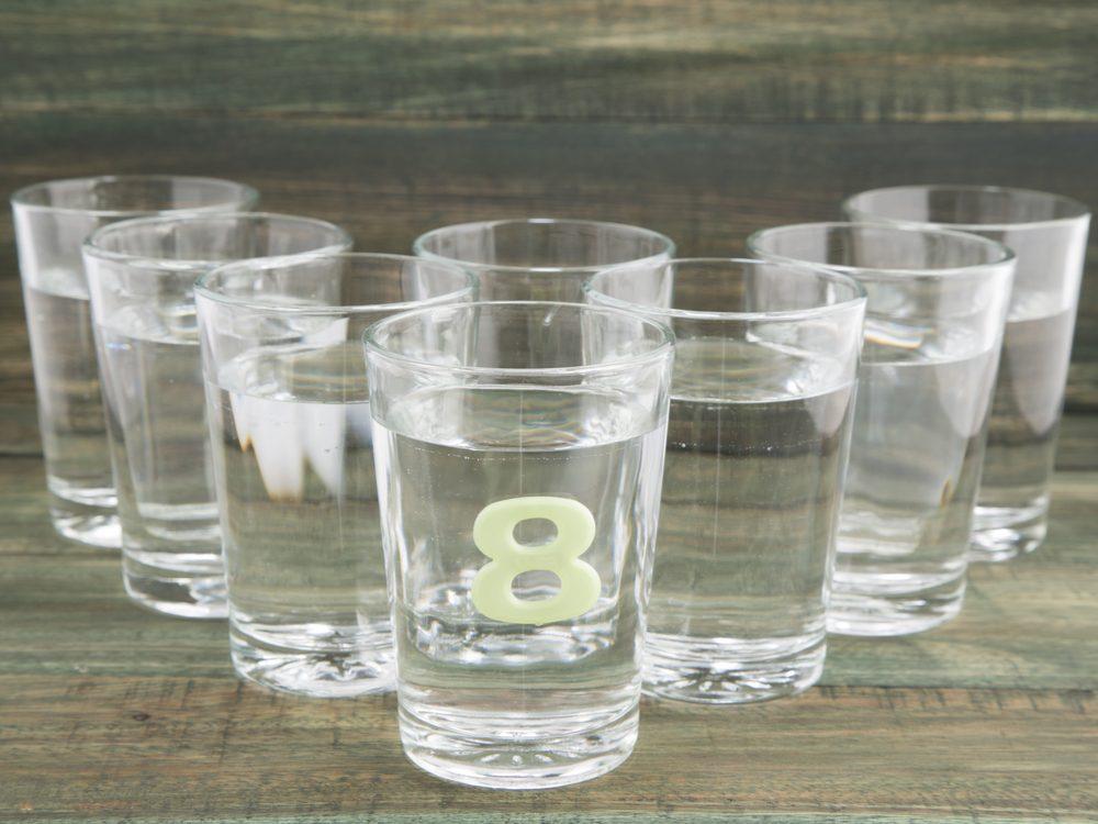 40 things doctors water