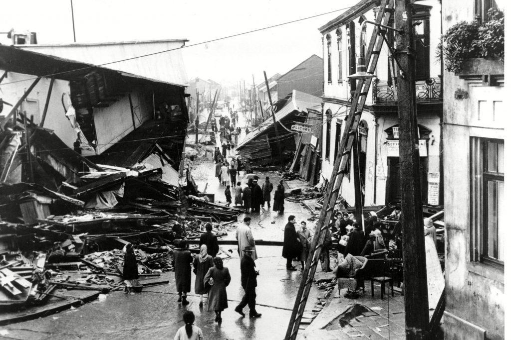 CHILEAN EARTHQUAKE, VALDIVIA, Chile