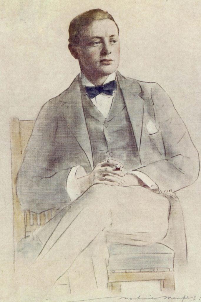Winston Churchill (1874-1965) British Statesman and Author As A Boer War Correspondent