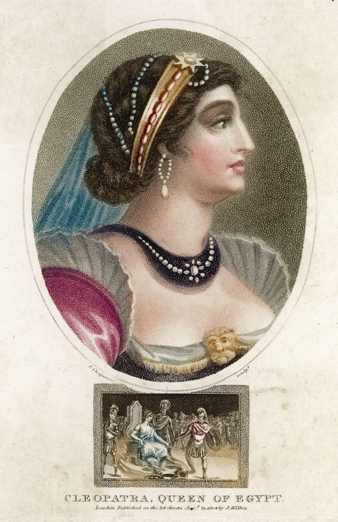 Cleopatra Vii Queen of Egypt