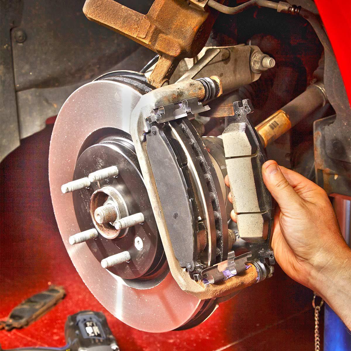 replace brake pads