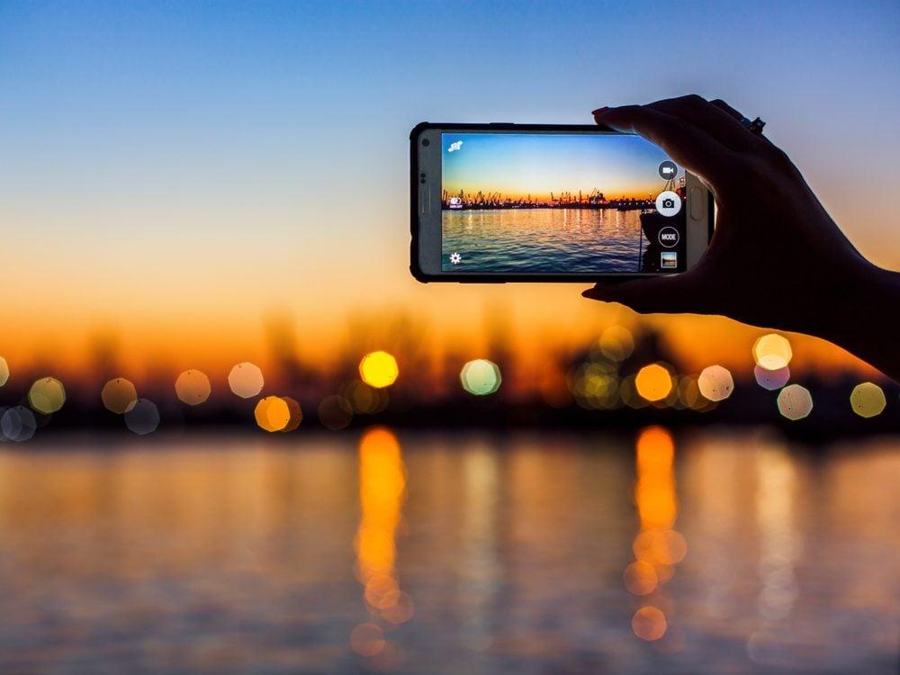 NFWM phone camera