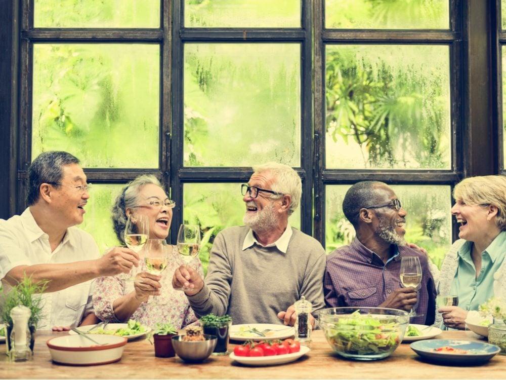 NFWM seniors meal