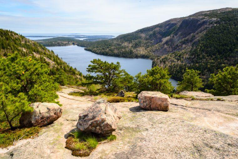 Precipice Loop Overlook at Acadia National Park