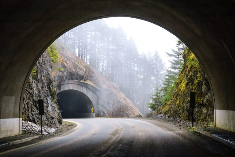 Two Tunnels at Olympic National Park