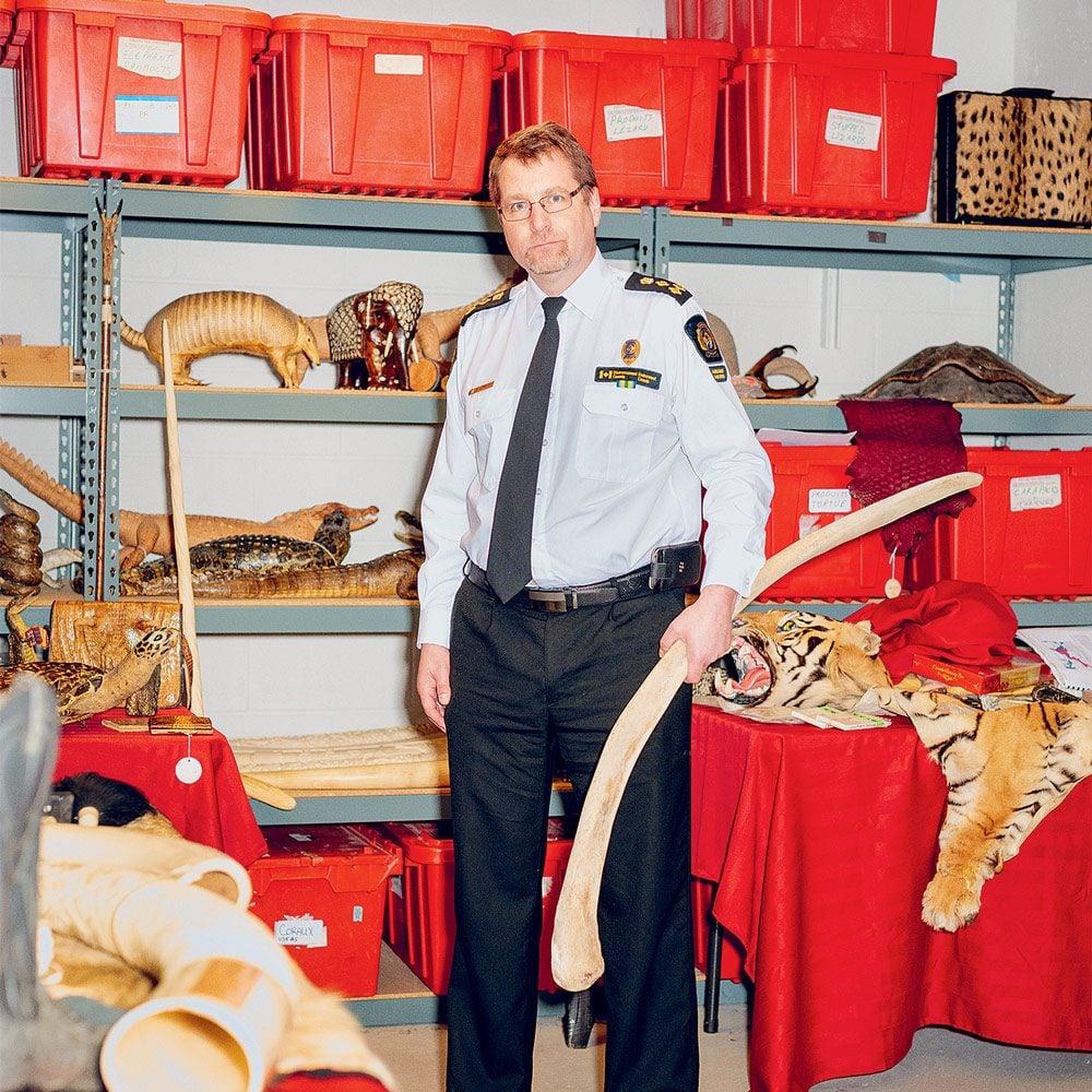 Sheldon Jordan at his office in Ottawa