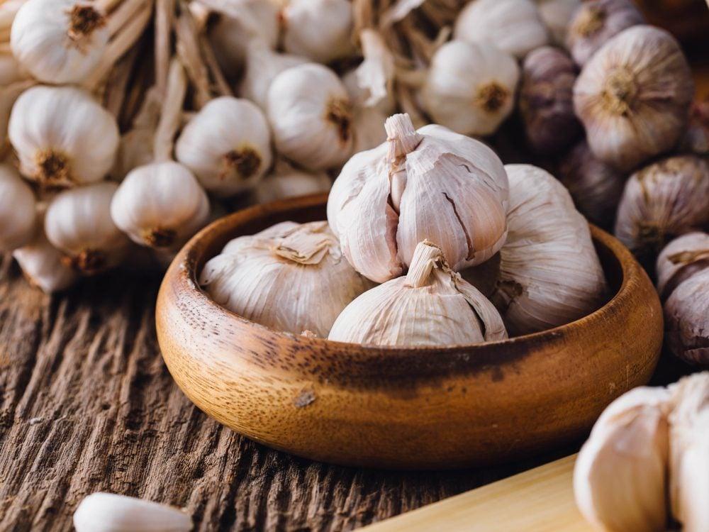 food tweets garlic
