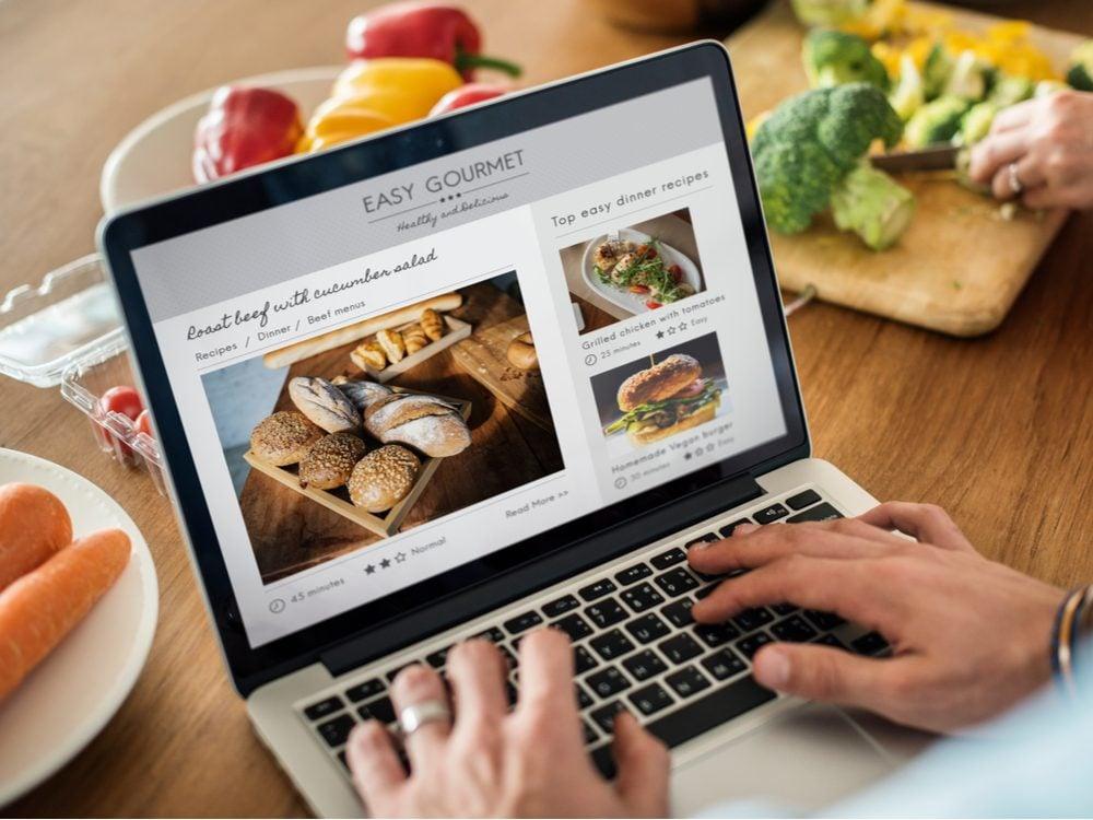 food tweets online recipe