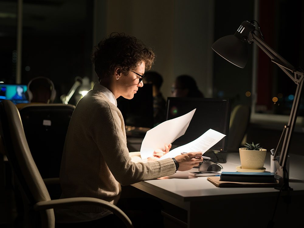 Are you a workaholic? A therapist might be able to help