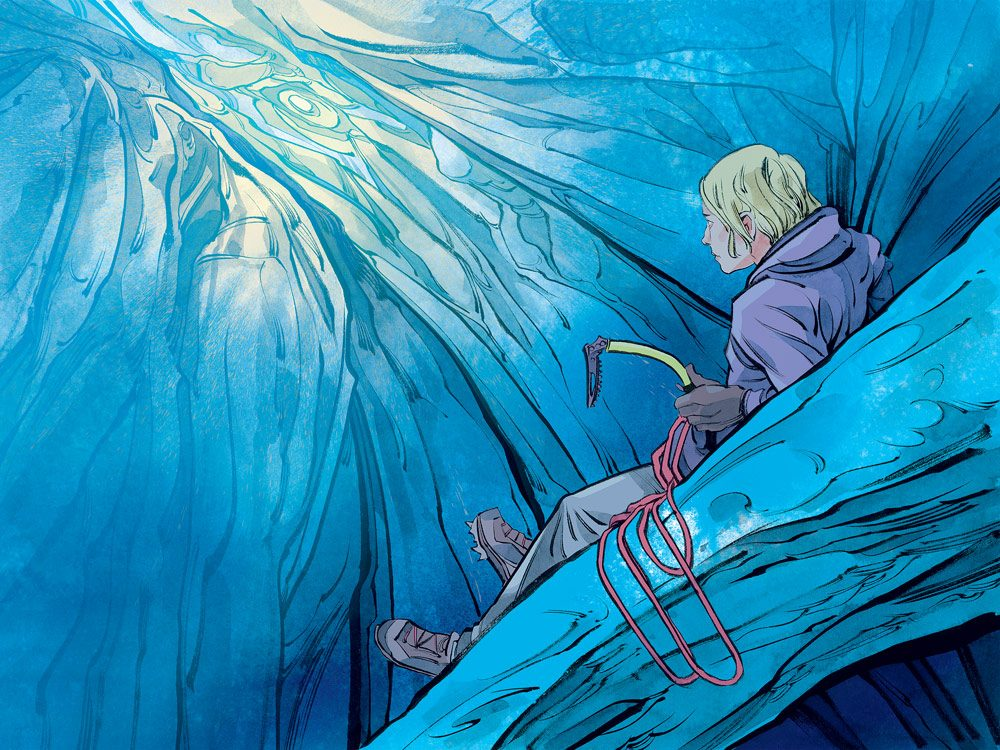 Glacier illustration
