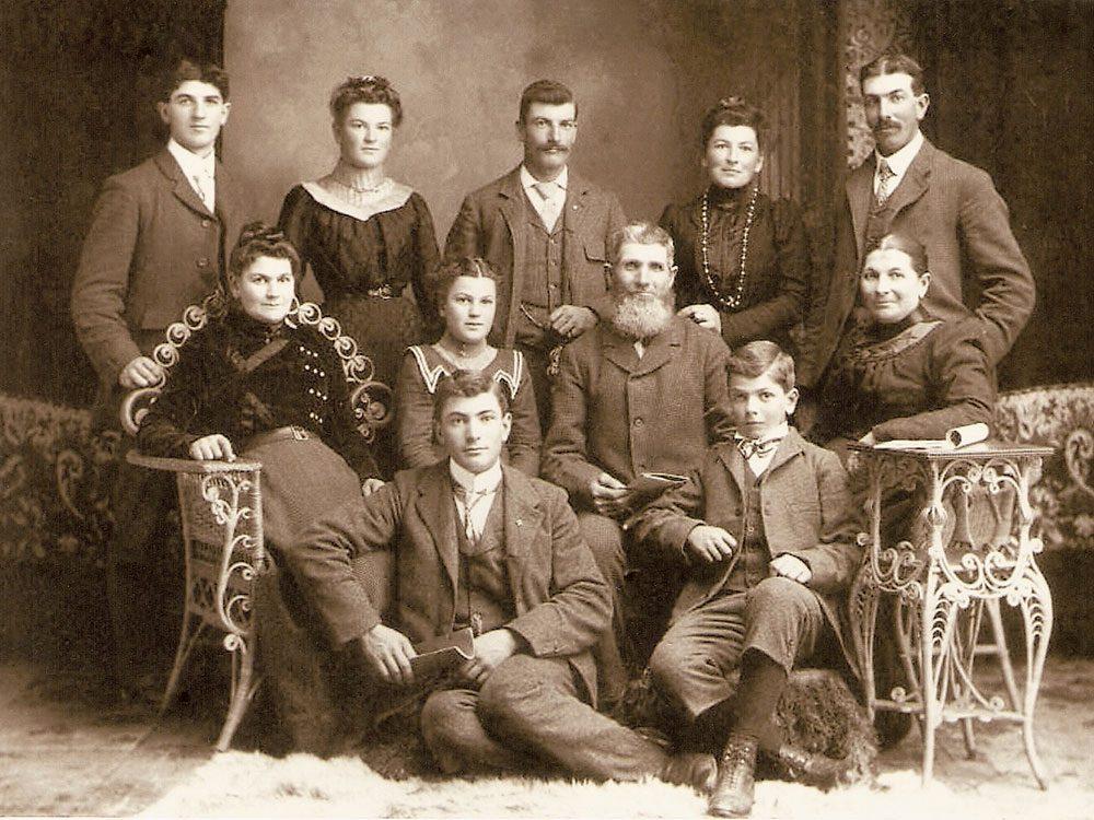Keeping history alive - Zurbrigg family photo