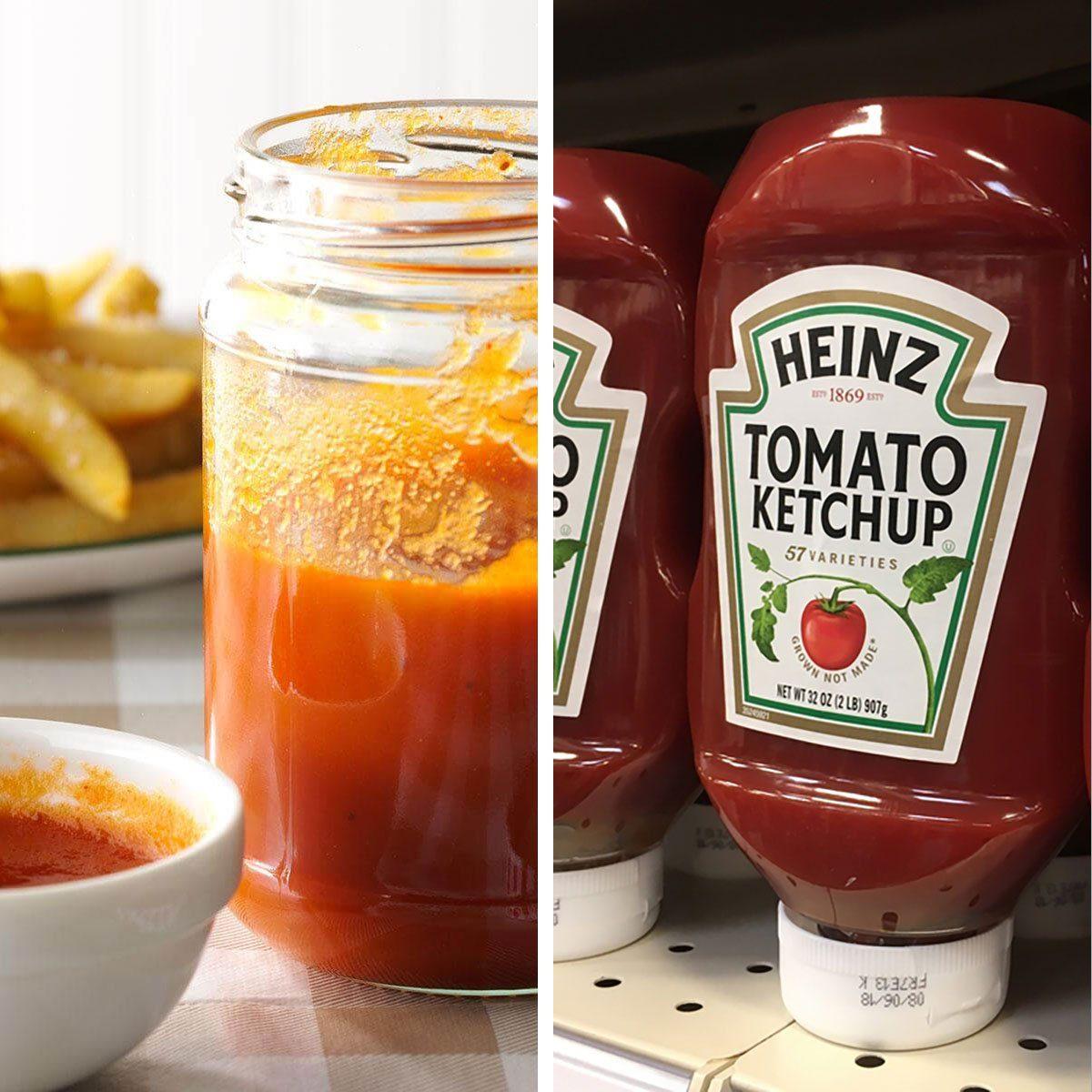 Homemade ketchup vs store bought