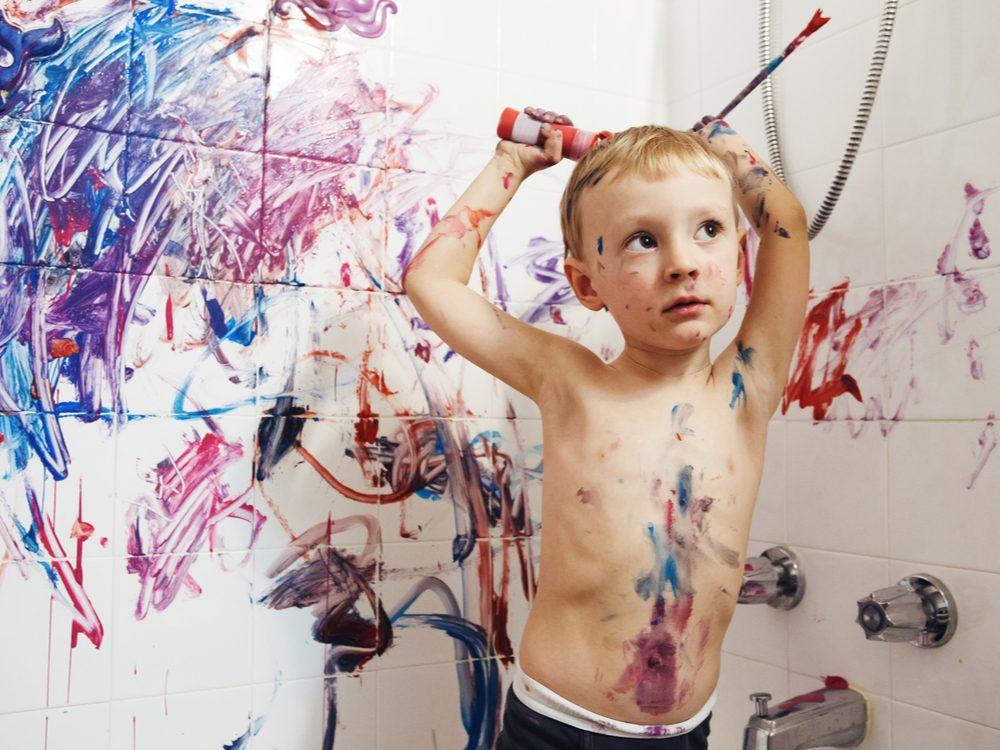 kids jokes paint kid