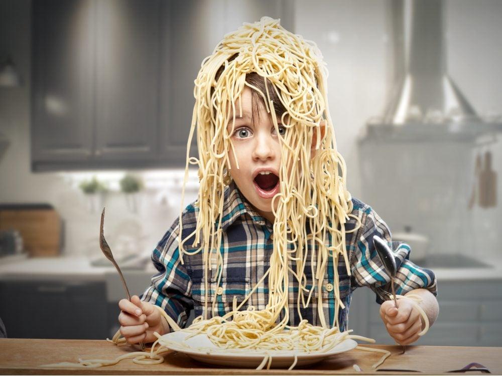 kids jokes spaghetti kid