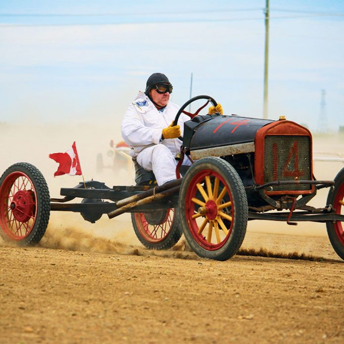 How a Group of Model T Racers is Raising Money For an Alberta Museum