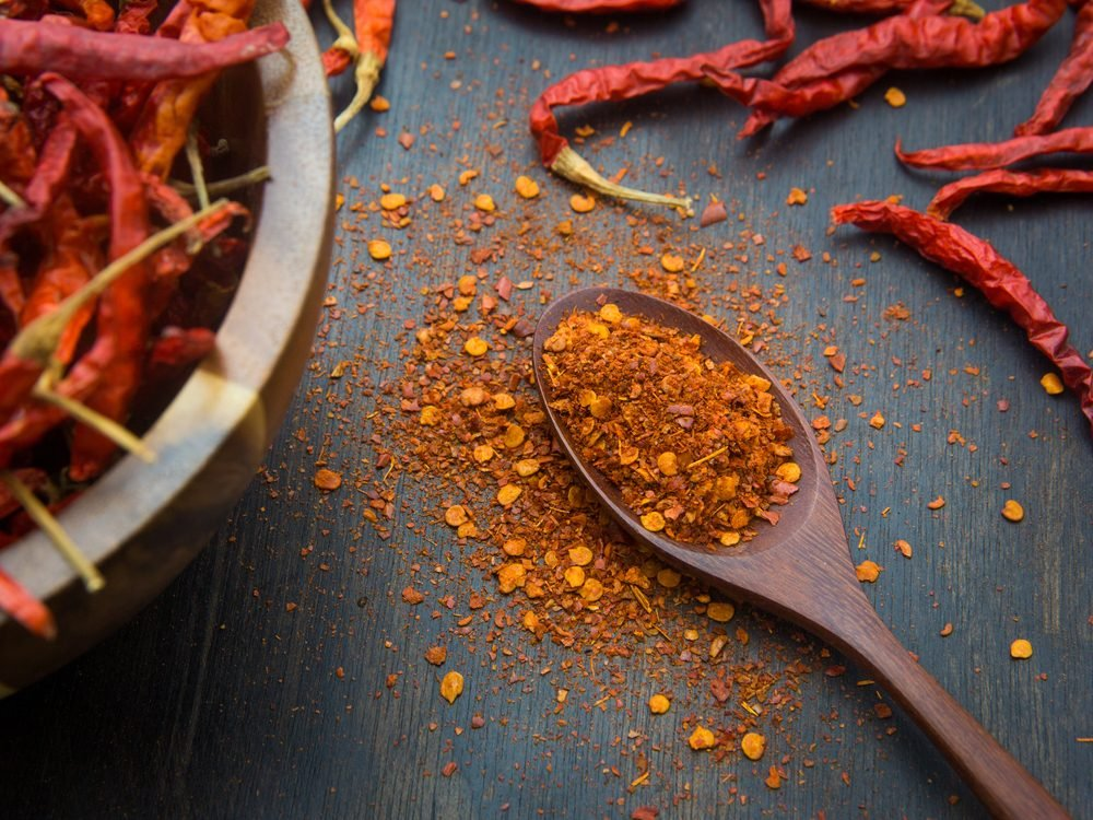 Home remedies - Pepper flakes