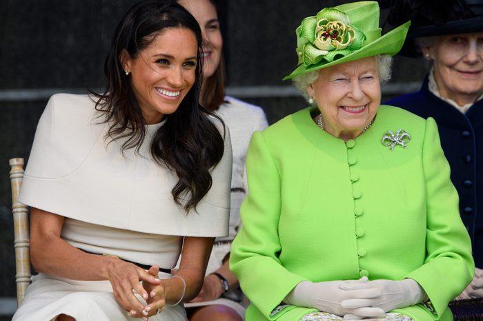 Queen Elizabeth II and visit Cheshire, UK - 14 Jun 2018