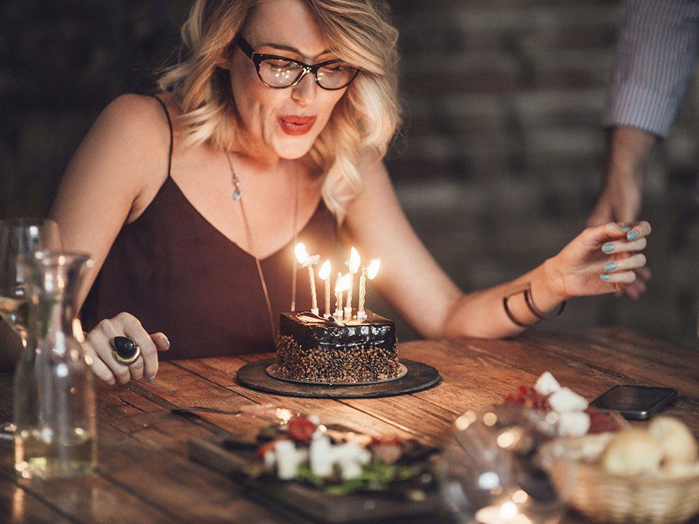Restaurant birthday song