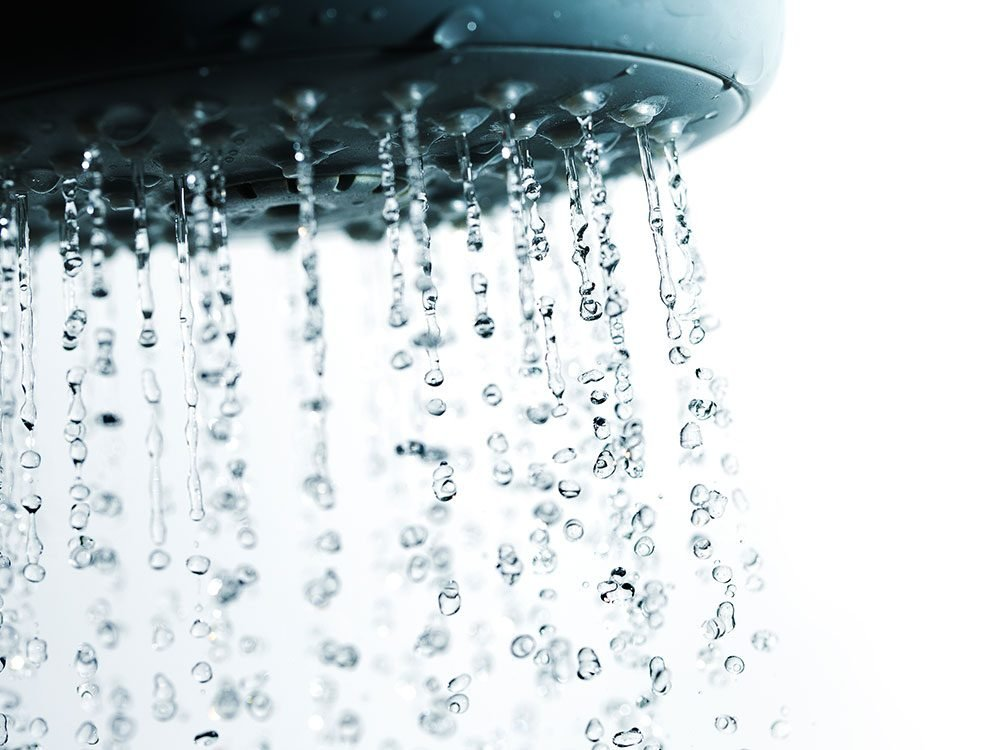 Save on summer utility bills - shower shorter