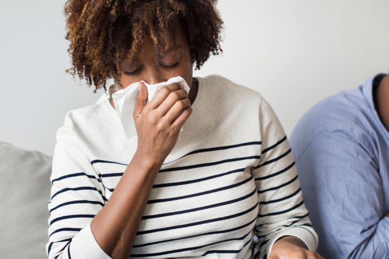 couple cold sick