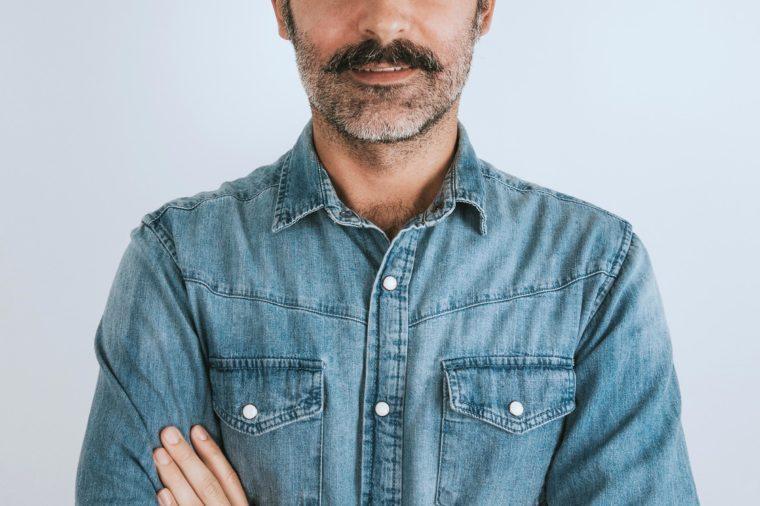 man mustache