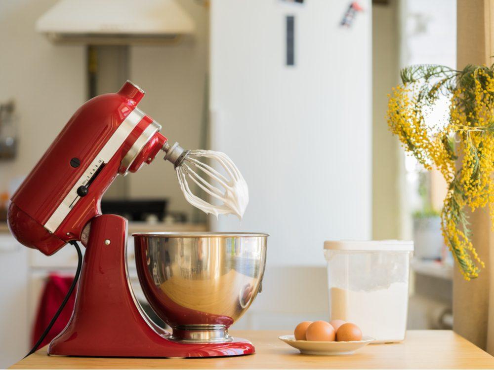 kitchen appliance mistakes mixer