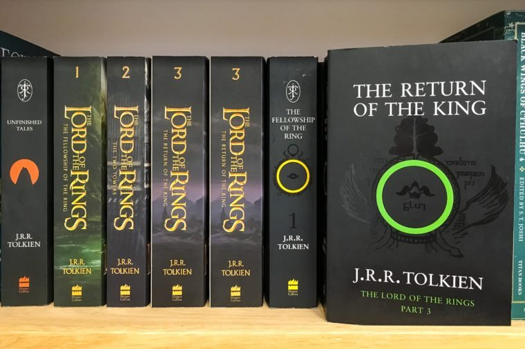Latest English Fantasy Novels For Sale In Library Book Store.