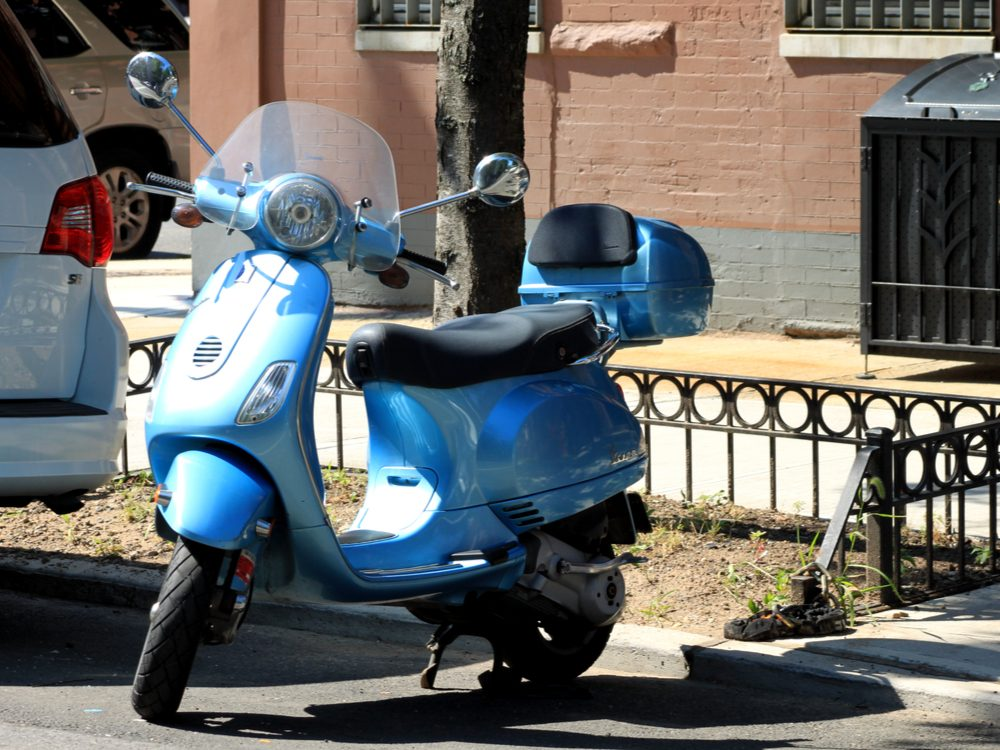 technology tweets moped