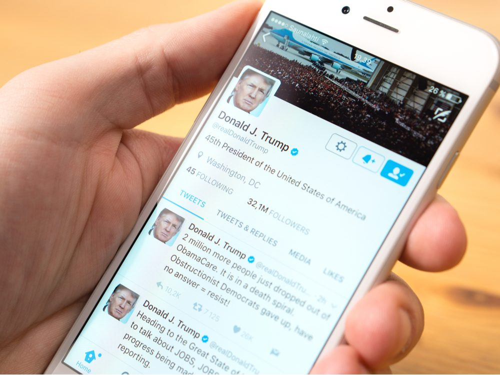 technology tweets trump twitter