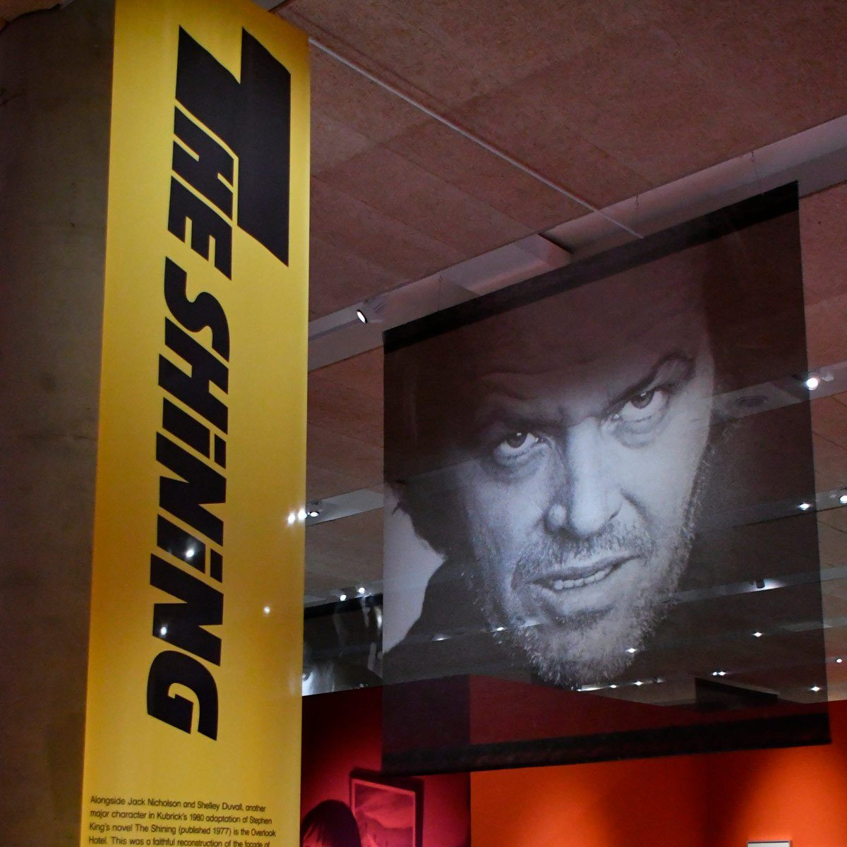 Jack Nicholson from The Shinning Exhibition