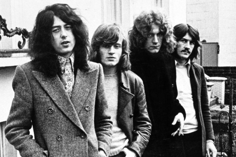 Led Zeppelin - Jimmy Page, John Paul Jones, Robert Plant and John Bonham