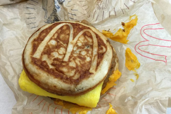 McGriddle sandwich
