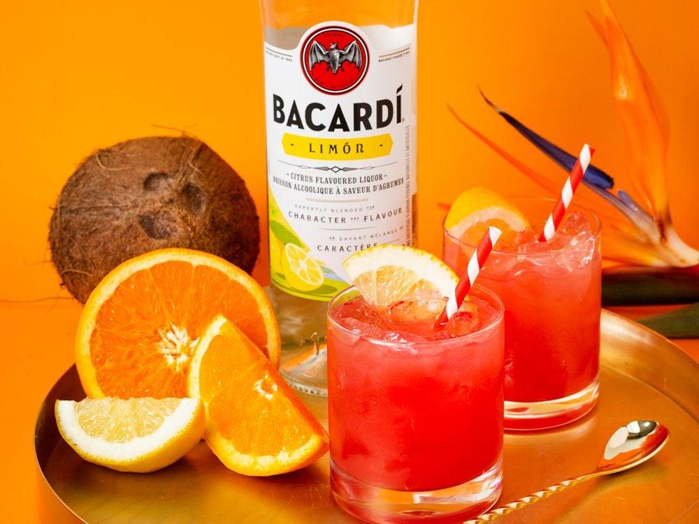 Bacardi El Coco cocktail