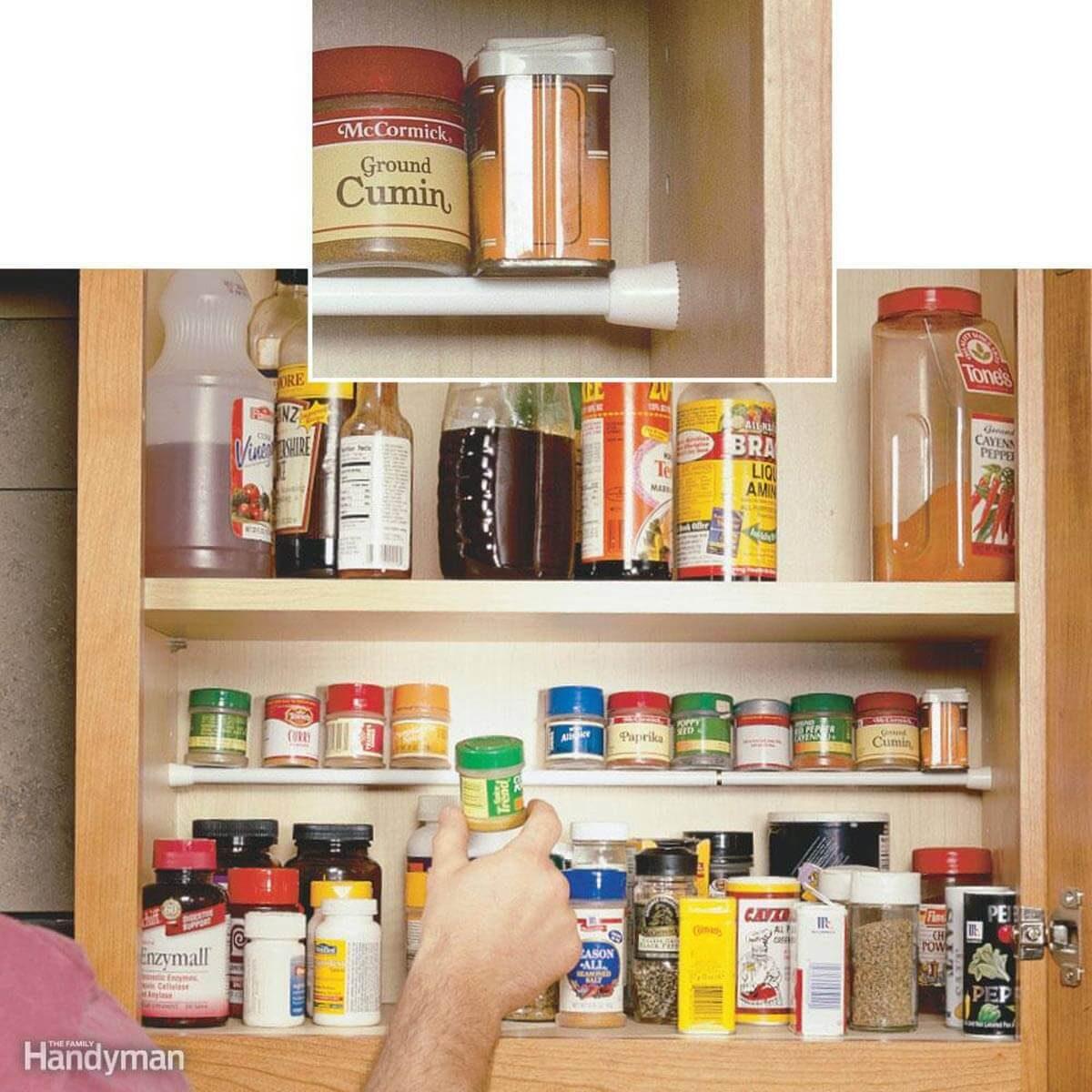 Pantry Storage: Spice Storage