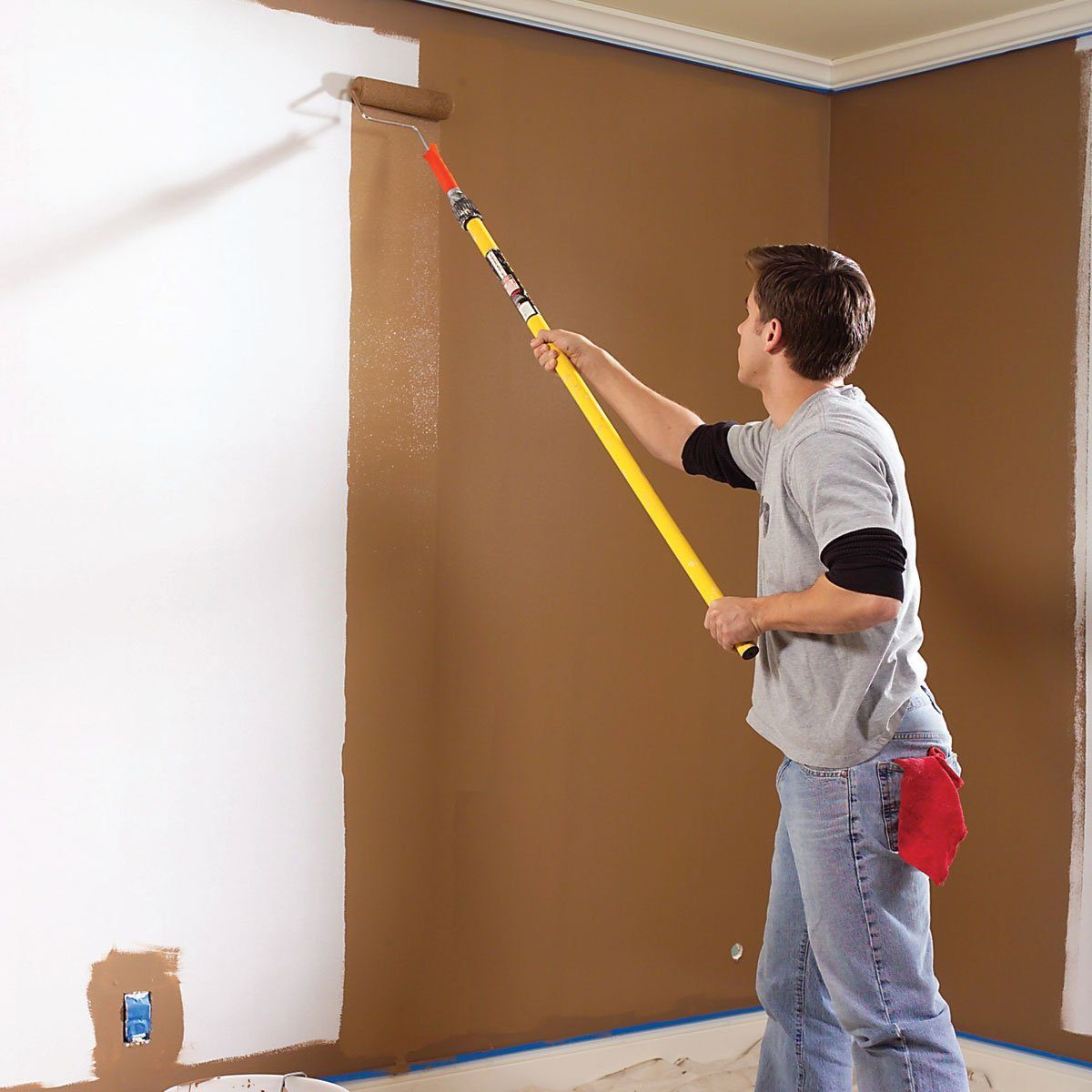 interior painting tips avoid lap marks