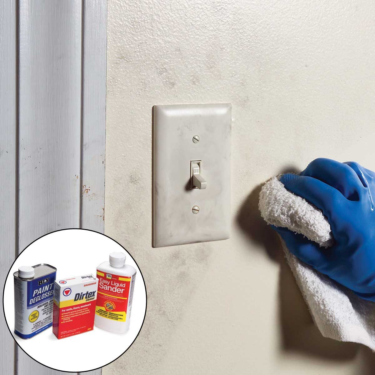 interior painting tips clean dirty surfaces