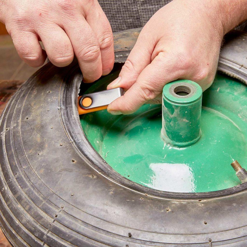 Hiding money in spare tire