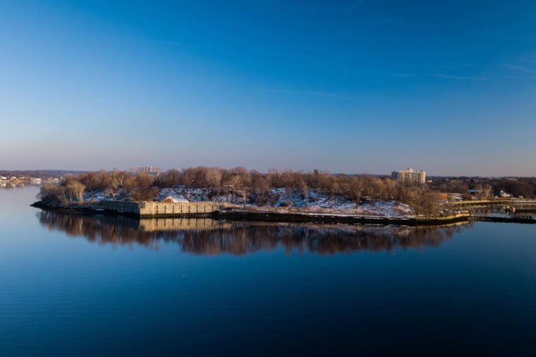 Fort Totten Park in Queens New York